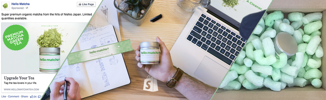 Worldwide Brands case study with Hello Matcha using a tea dropshipper in the directory